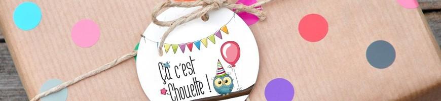 liste des packs complets pour les fêtes d'anniversaire de vos enfants
